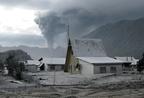 Vulkánok pusztító hamufelhője