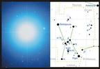 Rigel, az Orion csillagkép legfényesebb csillaga
